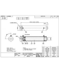 Double Acting Hydraulic Log Splitter Cylinder - Log Splitter 90mm Bore 60mm Rod 400mm Stroke